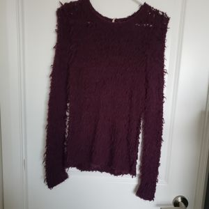 Free people fuzz sweater